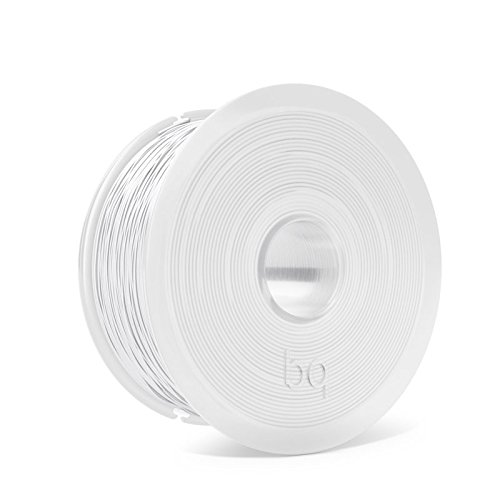 BQ Easy Go - PLA filament of 1.75 mm (100% PLA, resistant to acetone, rapid hardening) pure white