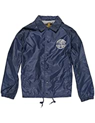 Element Brady Coach Jacket Total Eclipse Blue
