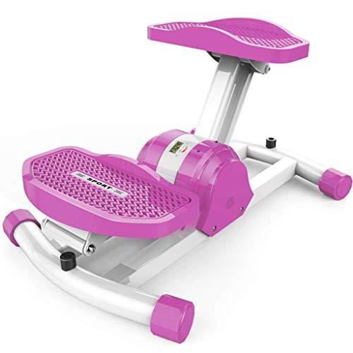 LY-01 Stepper Schwing Stepper, Hause Gewichtsverlust Maschine Pedal Machine Fitness Equipment Stepping Machine (Farbe : Pink)