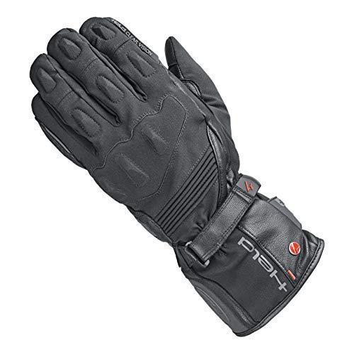 Held Motorradschutzhandschuhe, Motorradhandschuhe lang Satu 2in1 Handschuh GTX schwarz 10, Herren, Tourer, Ganzjährig, Leder/Textil Held Leder