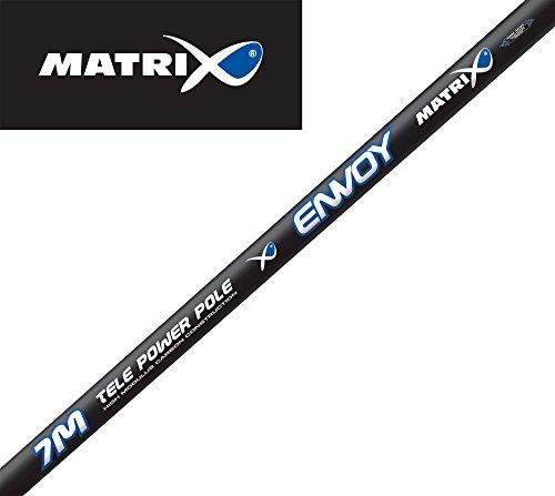 Fox Matrix Envoy Tele Power Pole 7m - Stippangel zum Friedfischangeln, Kopfrute zum Stippen, Stipprute zum Posenangeln