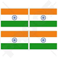 40 x 25 mm Indien Flagge Neu-Delhi Republic of India Aufn/äher Aufb/ügler 0941 A