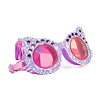 The Sparkle Club Girls childrens fun fashion sparkly purple cat swimming goggles by Bling2O