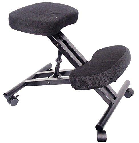Kniestuhl Sitzhocker Hocker Kniehocker Computerstuhl Bürostuhl Büro schwarz