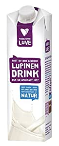 Made With Luve Lupinen Natur Drink, 1000 ml