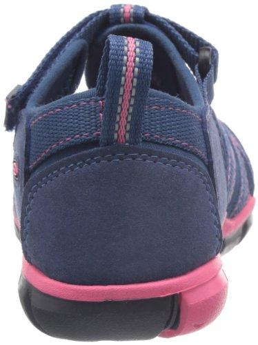 Keen SEACAMP II CNX T-ENSIGN BLUE/CAMELLIA RO 1010091 Unisex-Kinder Sandalen, Blau (ENSIGN BLUE/CAMELLIA RO), 24 EU -
