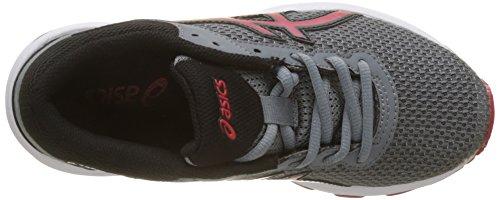 Asics Gt-1000 6 GS, Chaussures de Running Garçon Multicolore (Stone Greyclassic Re D Black)