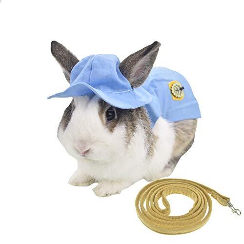 FLAdorepet Geschirr für kleine Hunde und Katzen, mit Hut, 3 Stück