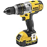 DeWalt 18V XR Lithium-ion Premium 3-Speed XRP Combi Drill with Batteries