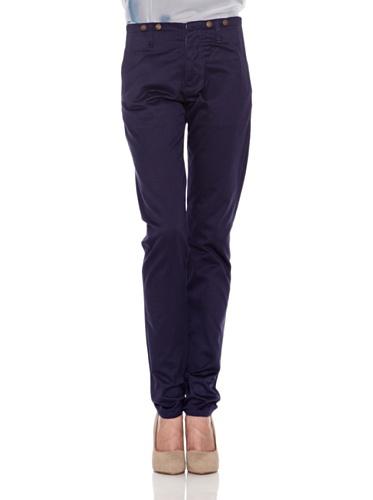 Pepe Jeans London Pantalone Brenda Blu W26L34