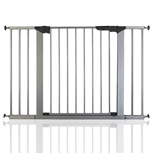 BabyDan Premier Wahre Druck Silber Schutzgitter Treppengitter Türschutzgitter 105,5 - 112,8cm