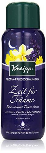 Kneipp Aroma-Pflegeschaumbad Zeit für Träume Lavendel Vanille und Abendblume, 400 ml -