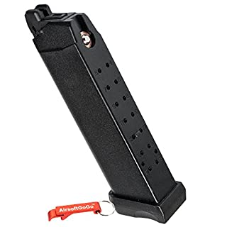 APS D-Mod Co2 Cargador para Marui G17 G18c, APS ACP601 & D-Mod Deluxe Airsoft GBB - Keychain Included
