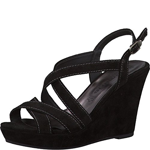 Tamaris Woman Sandal Black Nero