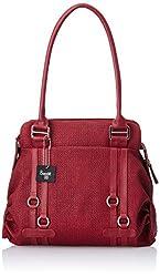 Baggit Women's Shoulder Bag (Maroon) (8903414543298)