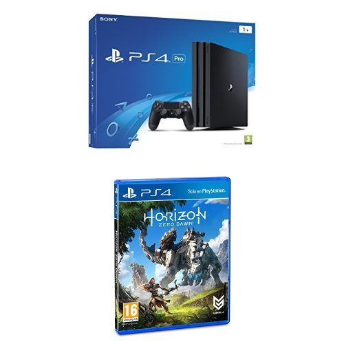 PlayStation 4 Pro (PS4) - Consola de 1 TB + Horizon Zero Dawn