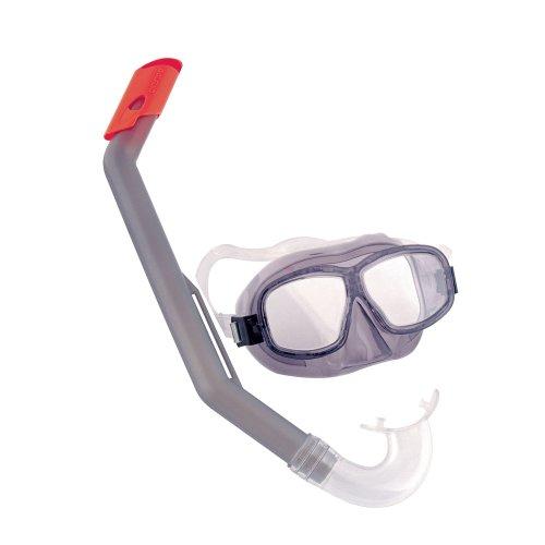 Bestway Tauchset Tauch Schnorchel Set Taucherbrille Tauchermaske für Kinder 7-14