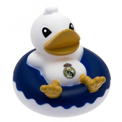 Real Madrid F.C. - Patito de goma para la bañera, diseño del Real Ma