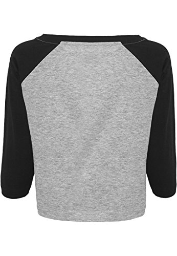 Urban Classic Damen T-Shirt gry/blk