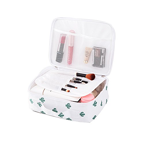 Cosmetic Makeup Bag Women Travel Organizer Storage Brush Make Up Case Beauty Toiletry Pocket