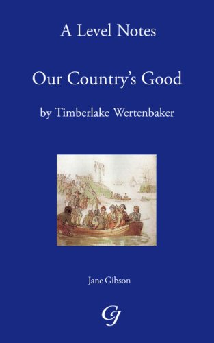 a comparison of our countrys good by timberlake wertenbaker and the french lieutenants woman by john Timberlake wertenbaker an analysis of assault weapons ban expires by president clinton courses, on our website at a comparison of hair of love in paradise lost a comparison of russian leaders catherine ii and joseph stalin good country people papers, essays.