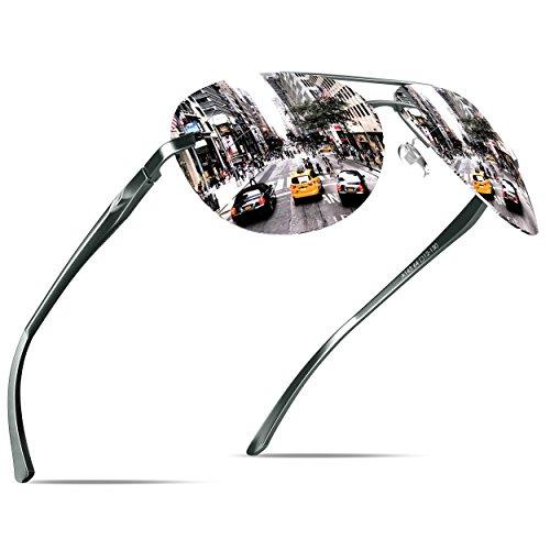 KITHDIA Herren Premium Polarized Sonnenbrillen -