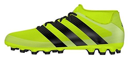 adidas Ace 16.3 Primemesh Ag, Scarpe da Calcio Uomo giallo segnavia,fluor,nero
