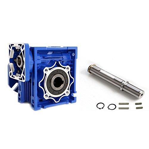 Gowe Speed Reducer für nmrv07540: 119mm Single Eingang Schaft Wurm Gear Speed Reduzierstück 90Grad nema42mit Servo/Stepper Motor -