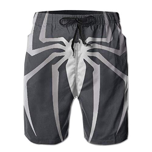 BagsPillow Men's Swim Trunks Halloween Spider Casual Sportswear Quick Dry Beach Shorts for Boys Summer (Les Halloween Activites De L)