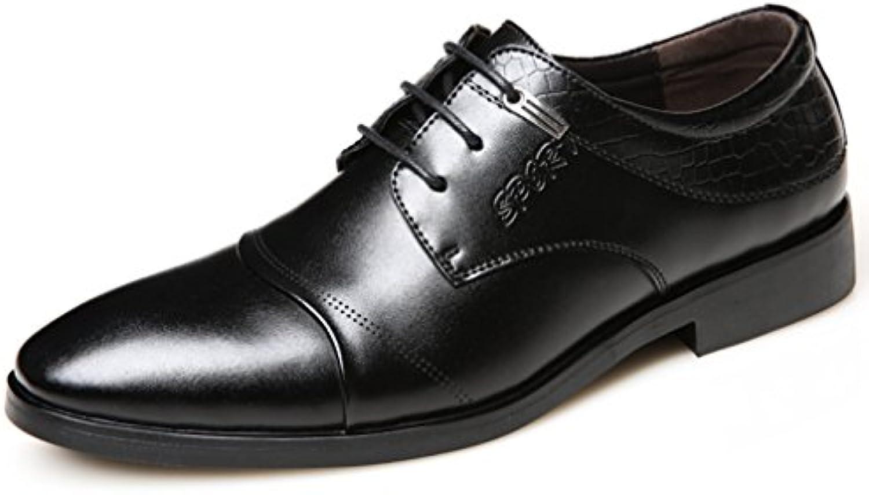 Herren Brogue Schuhe Business Gummi Sohle Anti Rutsch Abriebfest Freizeit Wasserdichte Britische Leichtgewicht
