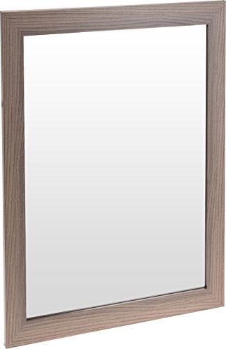 Holz Wandspiegel - 50x40 cm - Badspiegel Garderobenspiegel Flurspiegel Spiegel