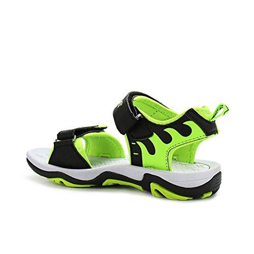 ASHION Chaussures pour enfants Sandales en toile pour enfants Vert