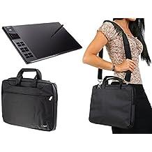 Navitech Negro Graphics Tablet / Tableta gráfica Funda para el Huion Giano WH1409