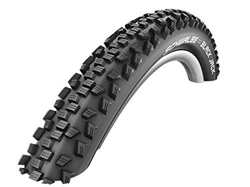 2x Schwalbe Black Jack Fahrrad Reifen ETRTO 57-559 (26 x 2.25 Zoll) - Black Schwalbe Jack