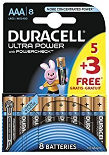 Duracell Ultra Power Pile Alcaline AAA Multicolore