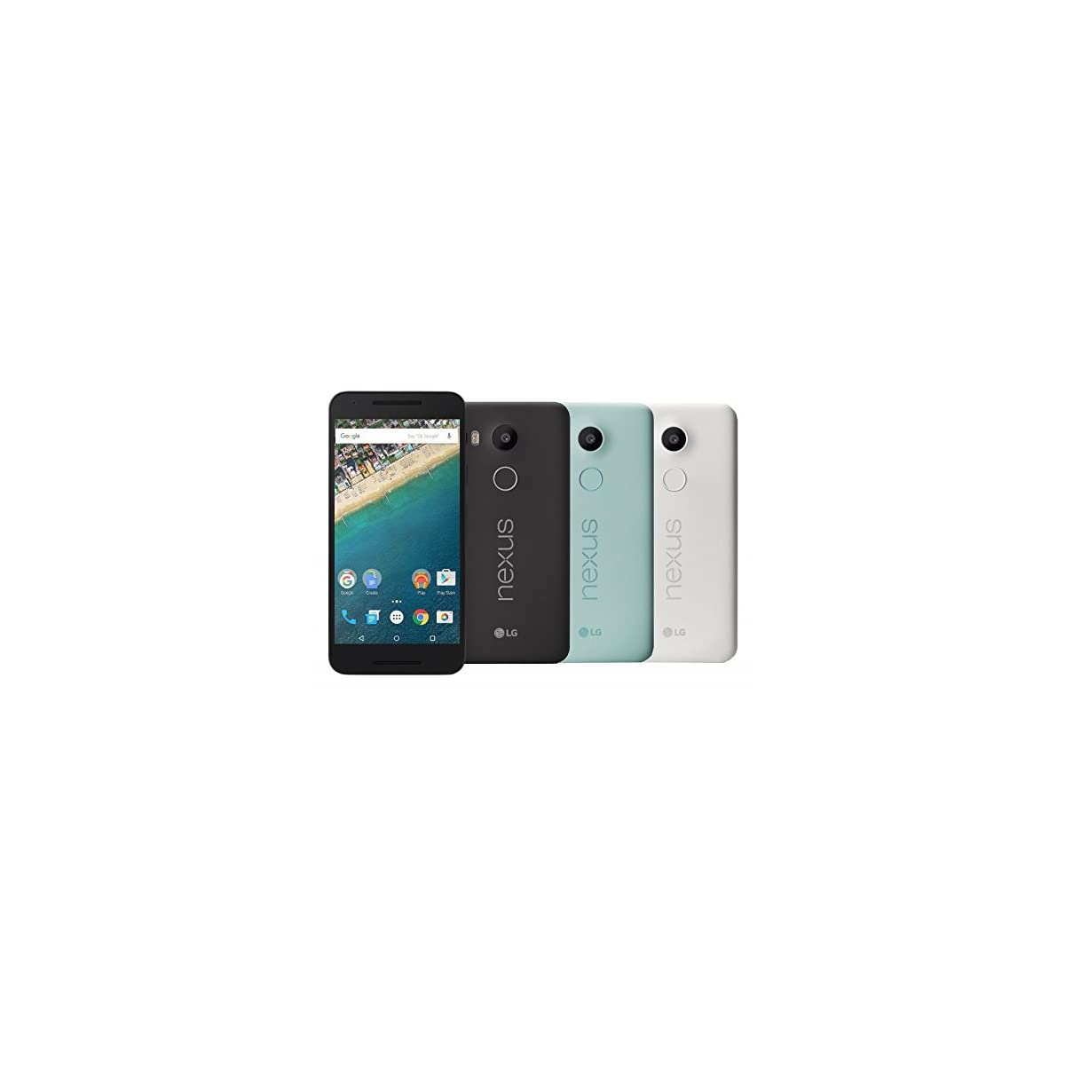 Google Nexus 5X Smartphone (5,2 Zoll (13,2 cm) Touch-Display,  interner Speicher, Android 6.0)