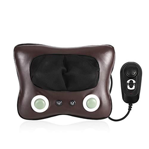Massaggiatore Cervicale Con il calore, cinghie più lunghe e batteria ricaricabile per uso domestico, in ufficio e in auto