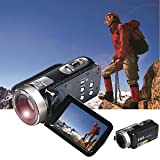 SLB Works Brand New Full HD 1080P 24MP Digital Video Camcorder Camera DV HDMI 3'' TFT LCD 16X ZOOM