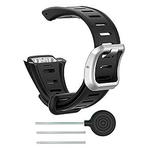 Keweni Für Polar FT 60 Armband, Ersatzbänder Armband für Polar FT 60 Uhr Herren