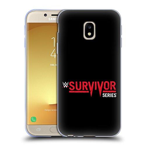 Offizielle WWE Survivor Series The Shows Soft Gel Hülle für Samsung Galaxy J3 (2017)
