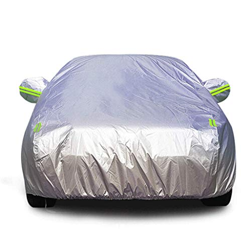 Autoschutzhülle passend für Toyota RAV4 / HyunSun Schutzhülle Regen- und Schneeschutzhülle Hippocampus/Big Dipper/Familia Autoschutzhülle Oxford Cloth Service (Farbe: Silber, Größe: Toyo - Toyo Hat