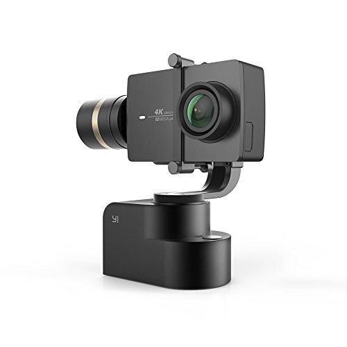 YI-4K-Action-Kamera-gebndelt-3-Achsen-Gimbal-Stabilisator-und-Selfie-Stick-Bluetooth-Remote-schwarz