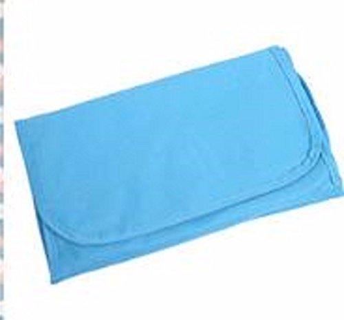 KAFEI Wasserdichte Kulturbeutel kann zusammengeklappt hängende Tasche großer Kapazität Reisepaket, grün sky blue
