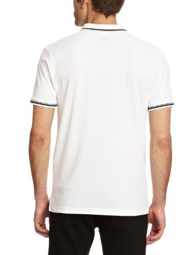 Helly Hansen Herren Kos Short Sleeve Polo White