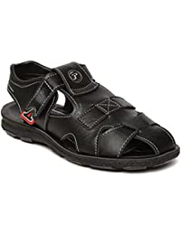 PARAGON MAX Men's Black Sandals