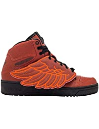 more photos d27ab 8c716 adidas Jeremy Scott Wings Bball Mens in Red Red by, 9.5