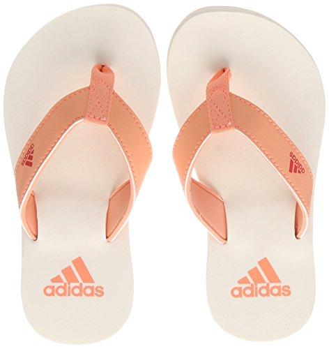 adidas Unisex-Kinder Beach Thong 2 K Dusch-& Badeschuhe, Mehrfarbig (Chacor/reacor/cwhite Cp9379),28 EU