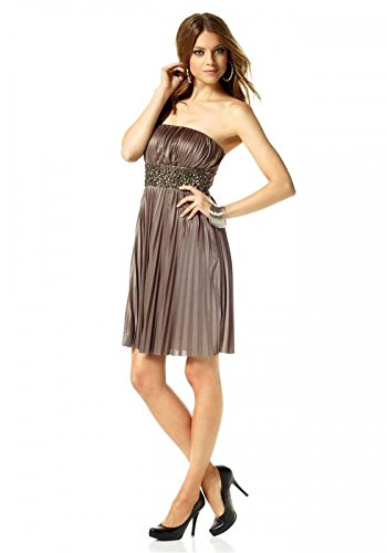 Cocktailkleid Abendkleid Kleid Laura Scott (44, beige)