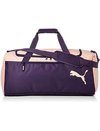 1eaa39951 Puma Fundamentals Sports Bag M Bolso, Unisex Adulto, Morado (Indigo/Peach  Bud