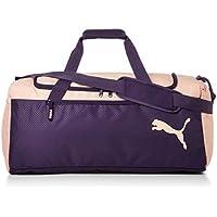 Puma Fundamentals Sports Bag M Bolsa Deporte, Unisex Adulto, Morado (Indigo/Peach Bud), OSFA